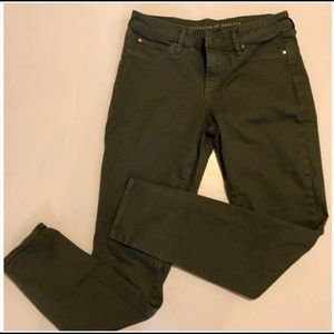 Articles of society olive green skinny jeans